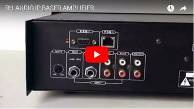 RH-AUDIO IP Based Amplifier