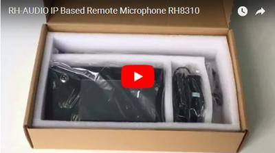 RH-AUDIO IP Based Remote Microphone RH8310
