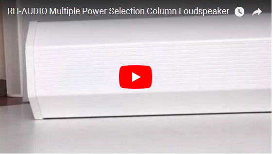 RH-AUDIO Multiple Power Selection Column Loudspeaker