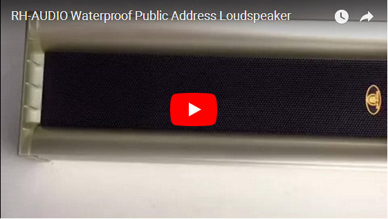 RH-AUDIO Waterproof Public Address Loudspeaker