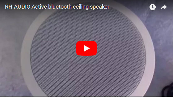 RH-AUDIO Active Bluetooth Ceiling Speaker