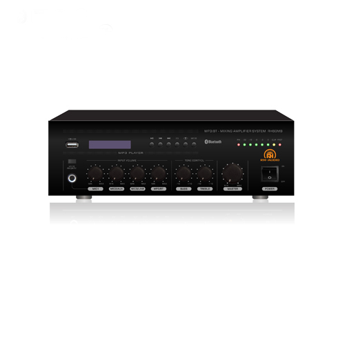 Bluetooth 100v Line Amplifier with USB Player