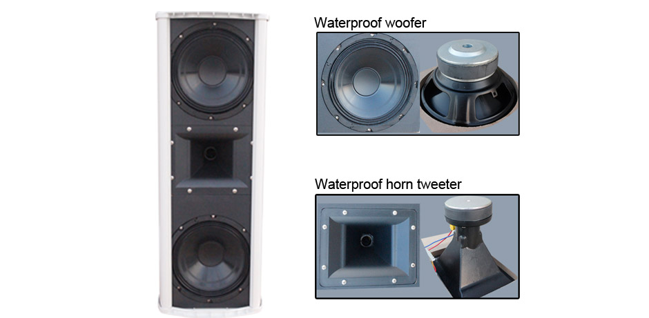 All-weather High Power Speaker for Outdoor and Indoor RH-CS8 Series Product Details