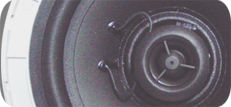 RH-AUDIO Low Impedance Marine Ceiling Speaker Drivers