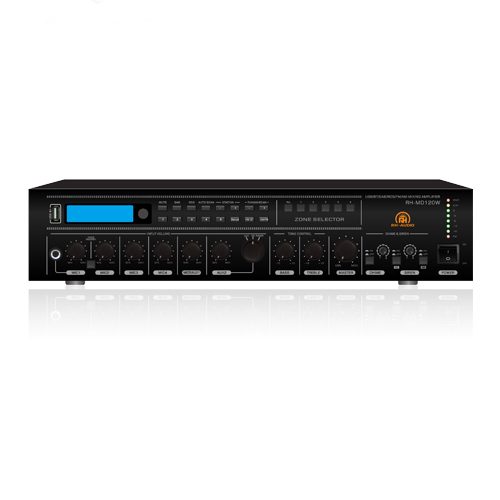 5 Zone USB/BT/FM/AM/RDS/DAB/DAB+ Mixing Amplifier