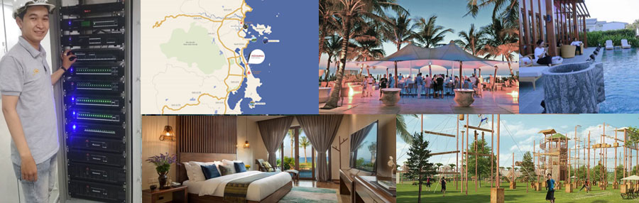 RH-AUDIO Movenpick Cam Ranh Resort project